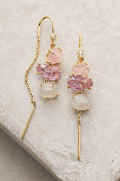 ** Ombre Breeze Threaders Earrings Jewelry  @Anthropologie