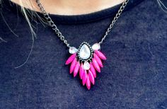 Feather Pendant Necklace- 3 Colors! 40% off at Groopdealz