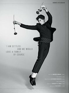 Andrés Velencoso Segura Defies Gravity for ES Magazine Cover Shoot
