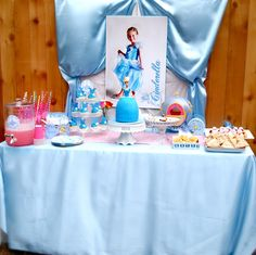 Cinderella party..... my daughter would love this.