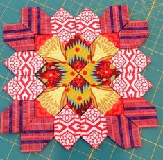 Quilternity's Place: Lucy Boston blocks 1 - 4