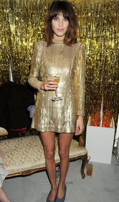 Alexa Chung's golden girl