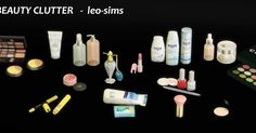 CC FOR SIMS 4: BEAUTY CLUTTER