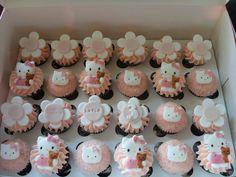 hello kitty cupcakes - ideas for birthday order next month