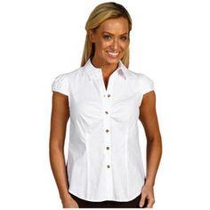 Women'S Short Sleeve Blouses Button Down | Fashion Ql