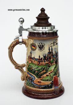 beer steins | Old Rothenburg Beer Stein - GermanSteins.com