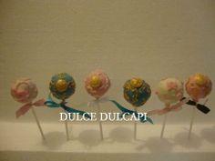 Bellos y elegantes cake pops de Dulce Dulcapi