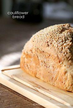 Vegan Richa: Cauliflower Sandwich Bread Loaf. Vegan Recipe