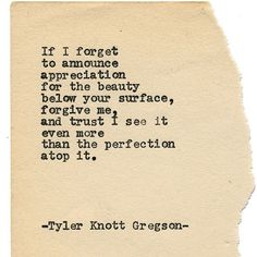 Typewriter Series #1568 by Tyler Knott Gregson ____ Chasers of the Light & All The Words Are Yours are Out Now! ____ #tylerknott #tylerknottgregson
