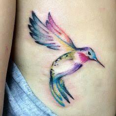 Image result for watercolor hummingbird tattoos