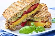 Healthier Gluten Free Grilled Cheese Sandwich Recipe - Learn how to increase fiber and protein, lessen calories, and balance out carbs: http://glutenfreerecipebox.com/healthier-gluten-free-grilled-cheese-sandwich/