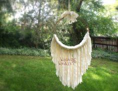 Woodsy Wonders Props & More — Newborn Muslin Dream Catcher, Hammock Photo Prop - Another Woodsy Wonders Original!!