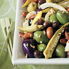 olives marinated
