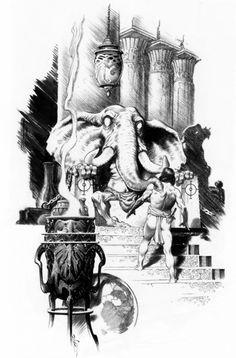 Tower of the Elephant | Mark Schultz #conan
