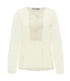 Beige Bluse für den Frühling von Hallhuber! #EuropaPassage #EuropaPassageHamburg #style #fashion #mode #trend #outfit