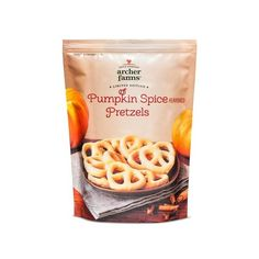 White Chocolate Covered Pretzels Pumpkin Spice - Archer Farms™ :... ❤ liked on Polyvore featuring home and kitchen & dining