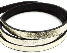 1M 1.2mm Metallic Gold Faux Leather #DIY #craft #jewelry