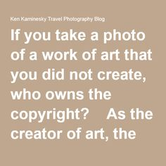 Copyright ownership on art?