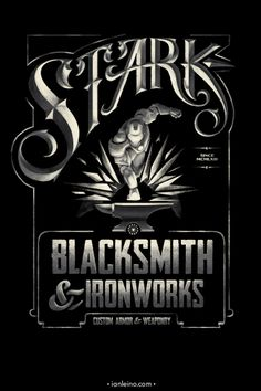 Stark Blacksmith & Ironworks by Ian Leino (Iron Man)