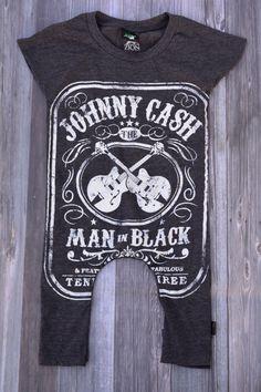 TSHIRT ROMPER for baby/toddler- Johnny Cash Man in Black by Tufftostrut on Etsy https://www.etsy.com/listing/222152403/tshirt-romper-for-babytoddler-johnny