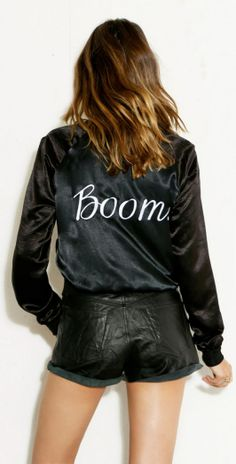 Boom Jacket. I need this for my Vi business! http://cdequaine.bodybyvi.com we say this all the time! BOOM!