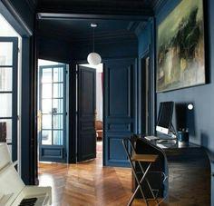 Dark room + light fixture