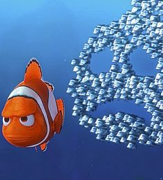 Finding Nemo - It's a Disney World Disney Pixar, Walt Disney, Disney Films, Disney And Dreamworks, Disney Animation, Disney Magic, Disney Icons, Disney Dream, Disney Love
