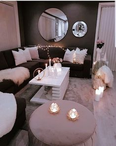 Decorate Your Living Room With These 14 Inspiring Wall Ideas,You can find inspiration wall and more on our website.Decorate Your Living Room With These 14 Inspiring Wall Ideas, Home Interior, Interior Design Living Room, Living Room Designs, Interior Ideas, Decoration Inspiration, Room Inspiration, Decor Ideas, Diy Ideas, Interior Inspiration