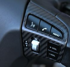 Black carbon switch panel