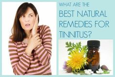 best natural remedies for tinnitus