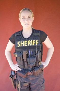 Aubrey Olson in Police Women of Memphis- not a fan of the show, or any female cop show, but this is by far the most badass real life woman cop on tv.