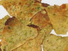 Zucchini Doritos-style chips   1 large zucchini, shredded  2 eggs  2 cups cheese.    Try fat free cheese to save extra calories?