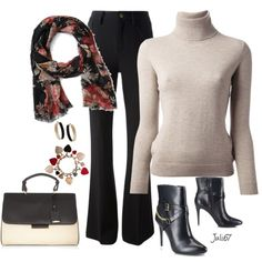 Warm Work Outfit, created by juli67 on Polyvore