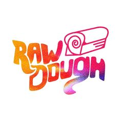 One of my favorite lettering jobs was for @rawdoughband last year.  I love this logo and how it always makes me hungry for cinnamon swirl bread. #psychadoughlic by howes_design