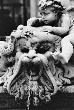 angels and lions, bernini fountain, piazza navona@Rebecca price butler
