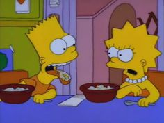 Bart And Lisa Simpson, Homer Simpson, Simpsons Funny, The Simpsons, Simpson Wallpaper Iphone, Cartoon Wallpaper, Cartoon Profile Pictures, Cartoon Pics, Simpson Wave