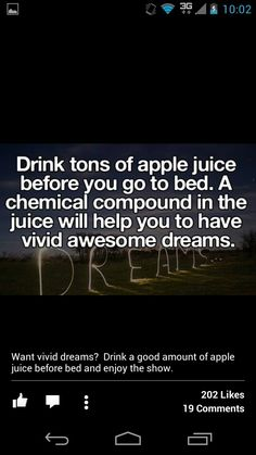 It will also make you get up to pee in the middle of the night  and give you diabetes ,..so drink up:)