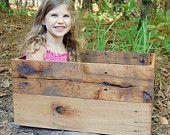 Large Crate from Reclaimed Wood