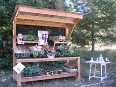 Best Farm Stand Display Ideas For Alternative Beautiful Display Ideas Suculentas Diy, Farmers Market Display, Farmers Market Stands, Vegetable Stand, Produce Stand, Farm Gate, Garden Stand, Garden Cart, Farm Store