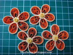Lin Handmade Greetings Card: Malaysian flower