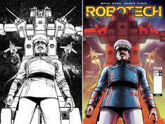 Robotech 4 Cover