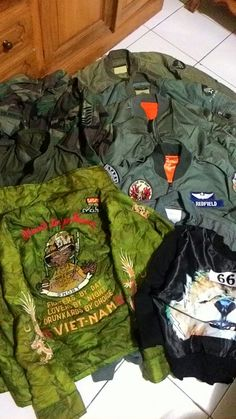 My collection #sukajan #army #military #esafebry
