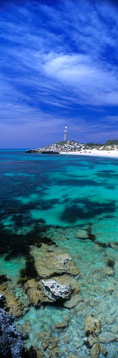 Bathurst Lighthouse, Rottnest Island - Western Australia Coast