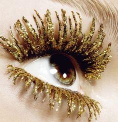 Eyelashes. Coolio