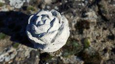 Gartenfiguren - Deko Rose, Dekoobjekt, Gartendekoration, Beton - ein Designerstück von piece-Unique bei DaWanda
