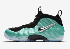 quality design 02422 39c01 Nike Air Foamposite Pro Island Green Release Date. The Nike Air Foamposite  Pro Island Green resembles the Electric Blue Foamposite Pro from