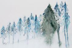 Ascending Pines. Artist: Vandy Massey