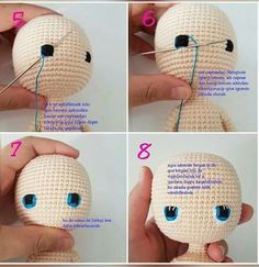Amigurumi bella doll free crochet pattern, A wonderful amigurumi knit toy pattern is waiting for you. All models related to Amigurumi. Crochet Doll Tutorial, Crochet Doll Pattern, Crochet Patterns Amigurumi, Crochet For Kids, Crochet Baby, Free Crochet, Knitted Dolls, Crochet Dolls, Crochet Crafts