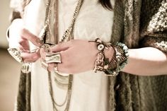 Tips for Layering Jewlery