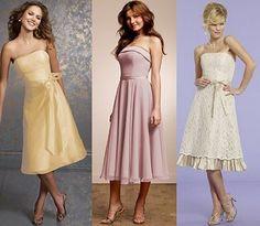 Vestido longuete para festas de casamento: dicas, fotos